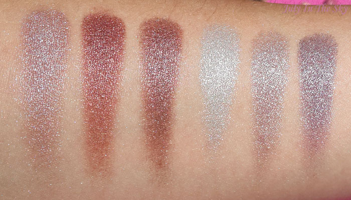 blog beauté BH Cosmetics galaxy chic swatch