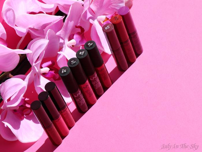 blog beauté nyx soft matte lip cream avis test