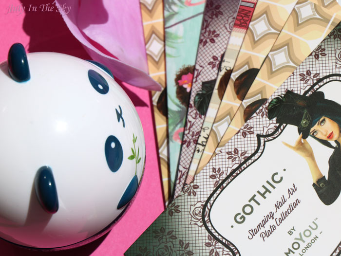 blog beauté favoris hiver panda dream white mask tony moly stamping moyou