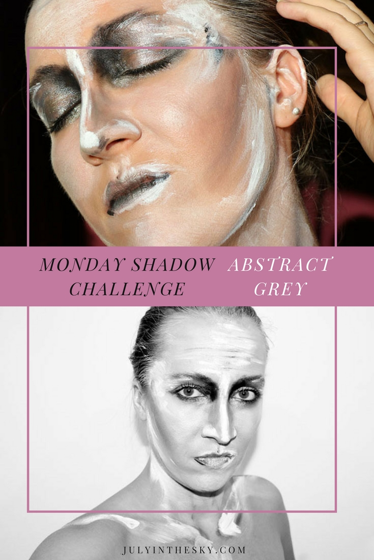 blog beauté maquillage monday shadow challenge abstract grey