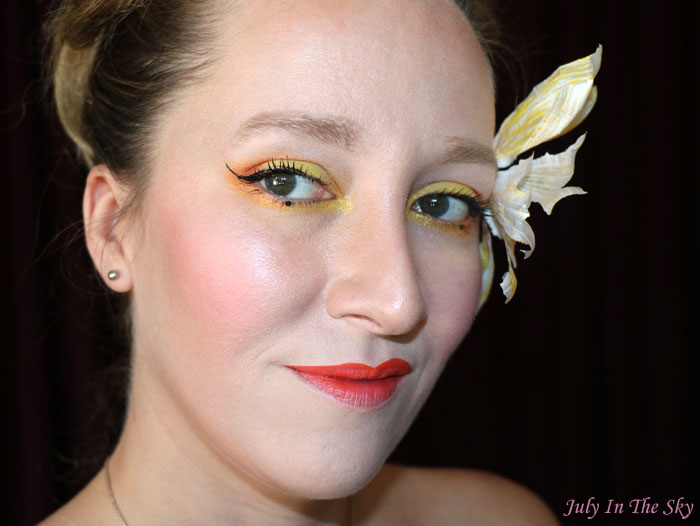 blog beauté monday shadow challenge mustard geisha