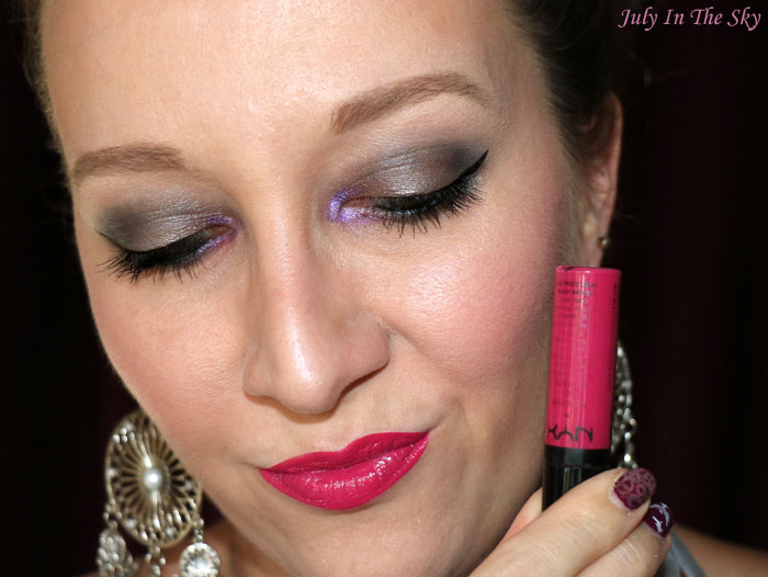 blog beauté nyx xtreme lip cream strawberry jam swatch