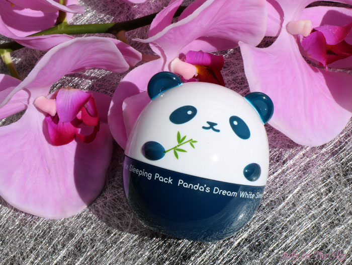 blog beauté Panda's Dream White Sleeping Pack Tony Moly