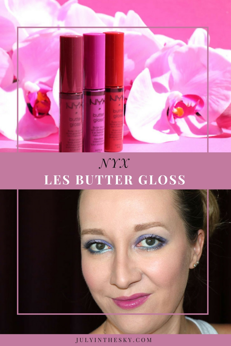 blog beauté nyx butter gloss avis test swatch