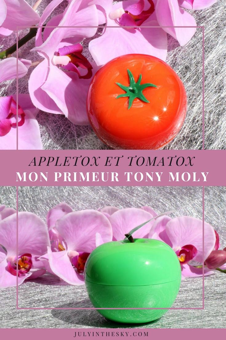 blog beauté corée tony moly tomatox appletox