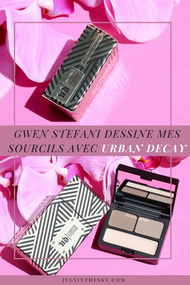 blog beauté brow box urban decay gwen stefani bathwater blonde
