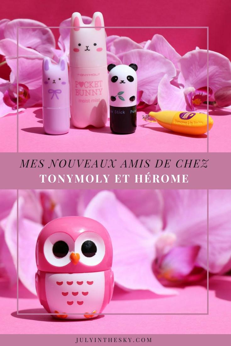 blog beauté tonymoly herome