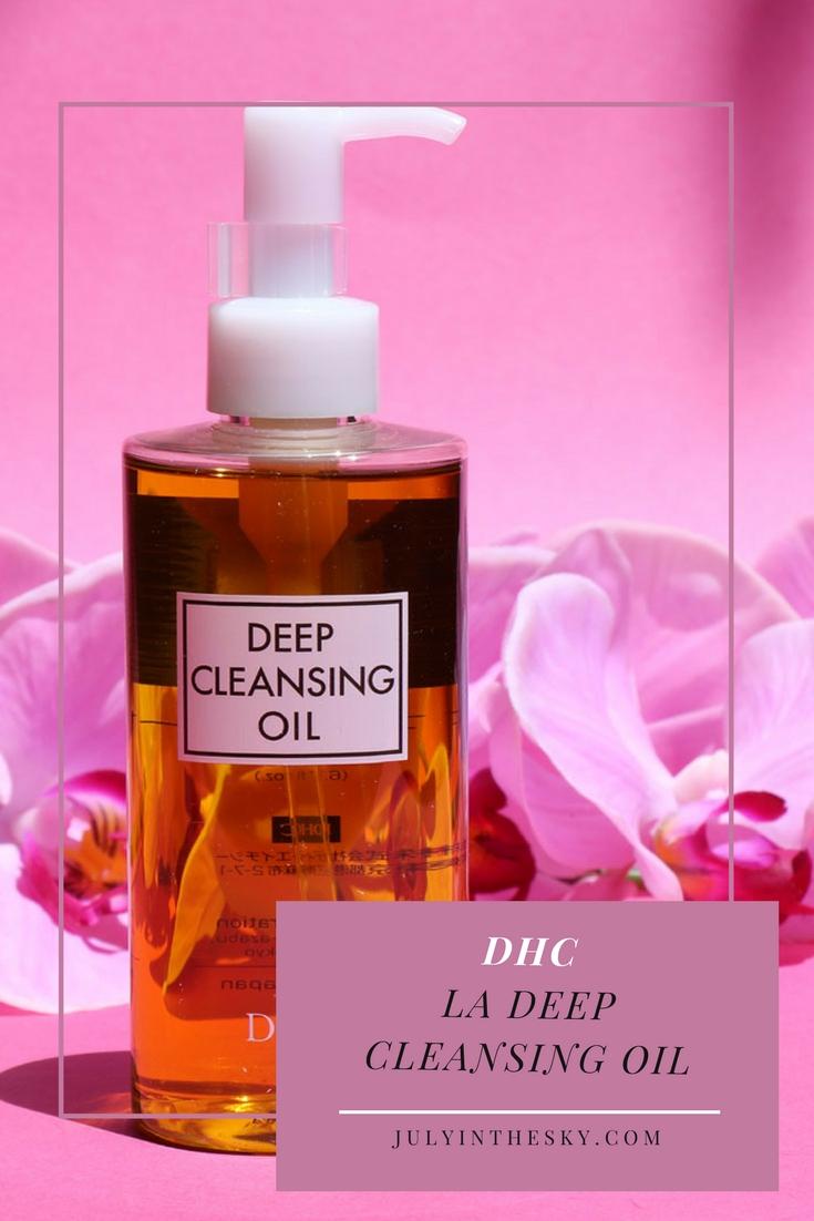 blog beauté pure cleansing oil dhc