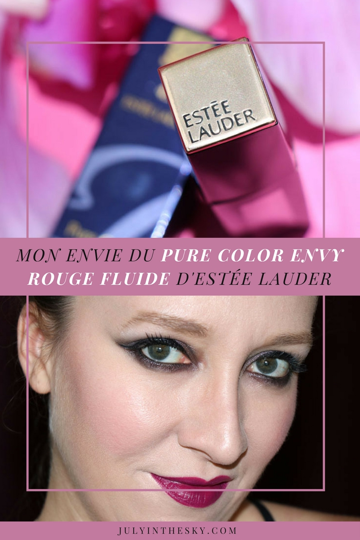 blog beauté pure color envy rouge fluide estée lauder
