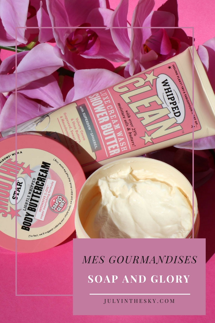 blog beauté soap and glory smoothie star body buttercream whipped clean shower butter