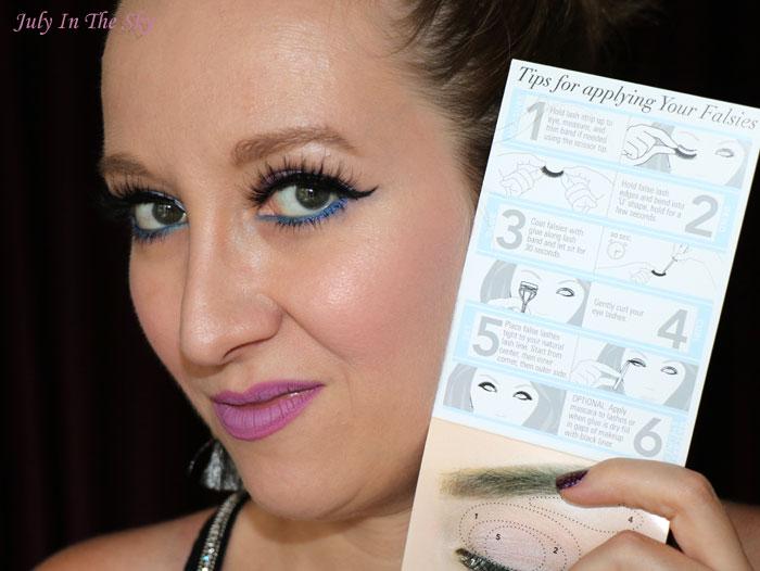 blog beauté house of lashes faux cils tutoriel pose