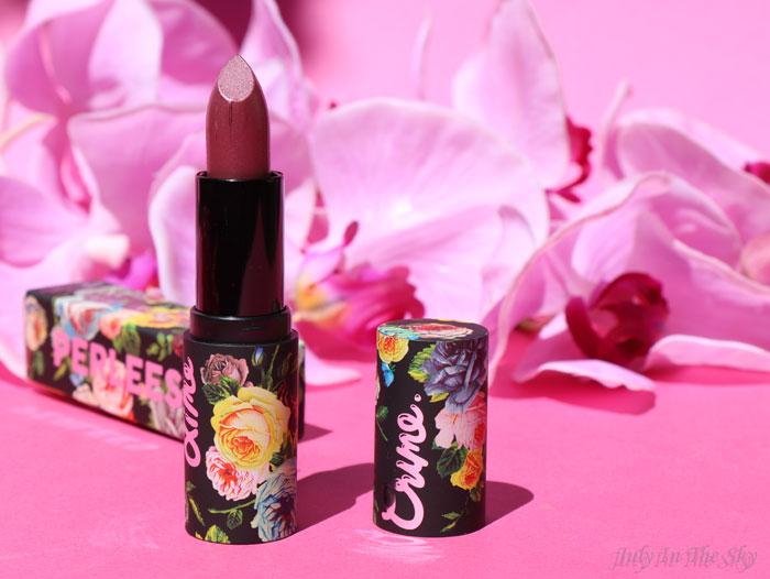 blog beauté lime crime perlees charmed
