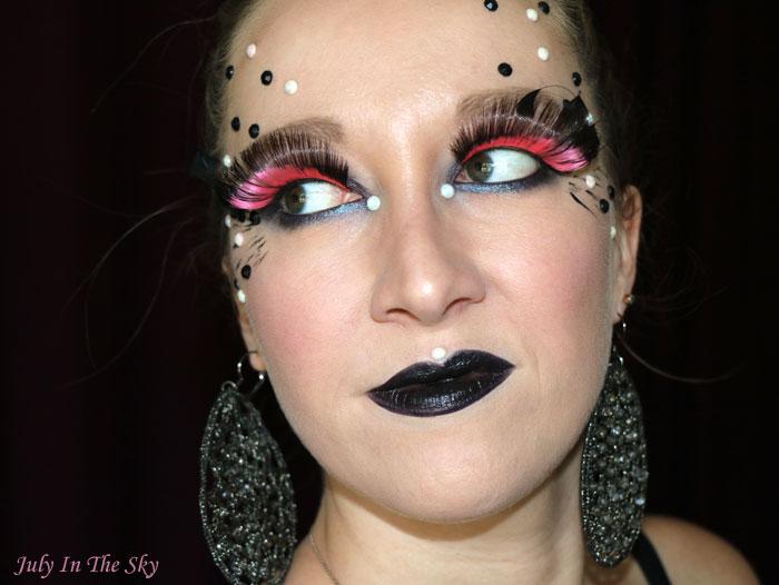 blog beauté rdv beauté clin d'oeil aux faux cils cabaret circus