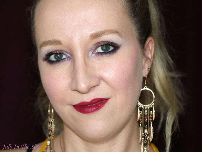 blog beauté kiko velvet passion matte lipstick wine