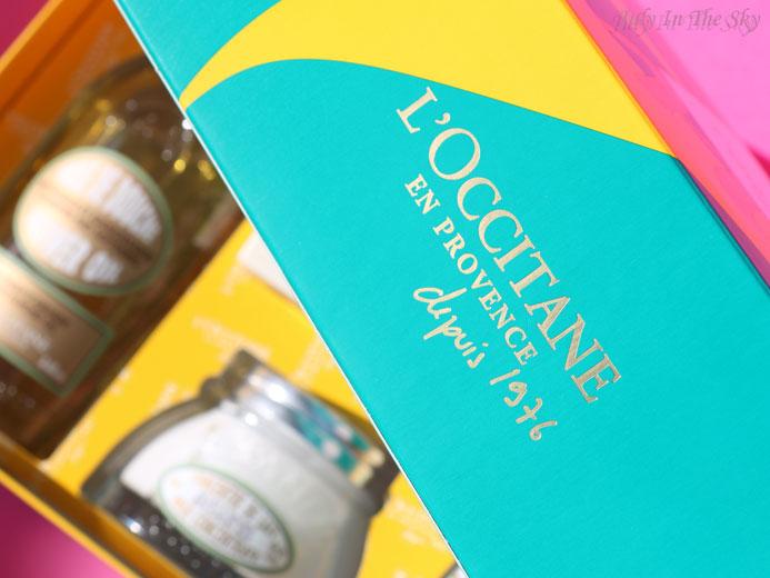 blog beauté l'occitane coffret amande gourmande