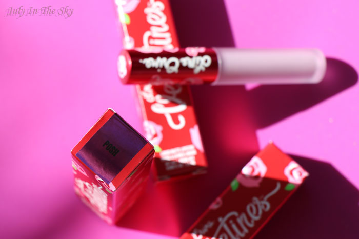 blog beauté lime crime velvetines posh