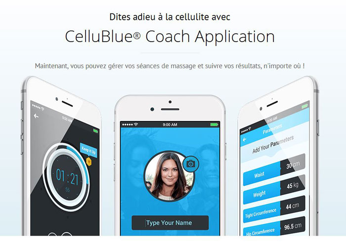 blog beauté kit ventouse anti-cellulite Cellublue Coach Application
