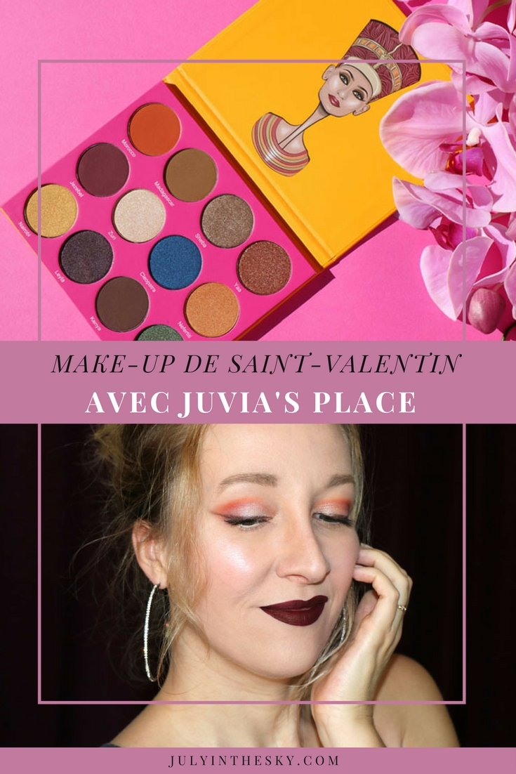 blog beauté make-up saint valentin kat von d juvia's place