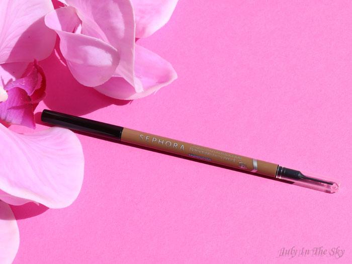 blog beauté crayon sourcils retractable waterproof sephora nutmeg brown