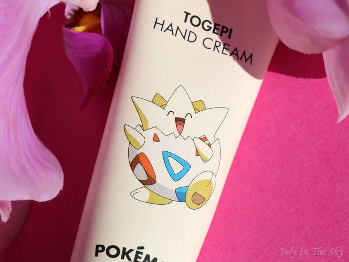 blog beauté tonymoly pokemon crème mains citron togepi