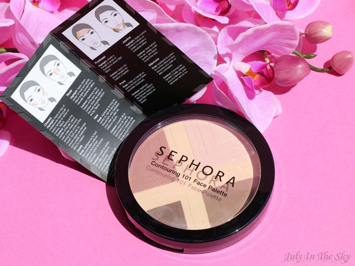 blog beauté sephora contouring 101 face palette