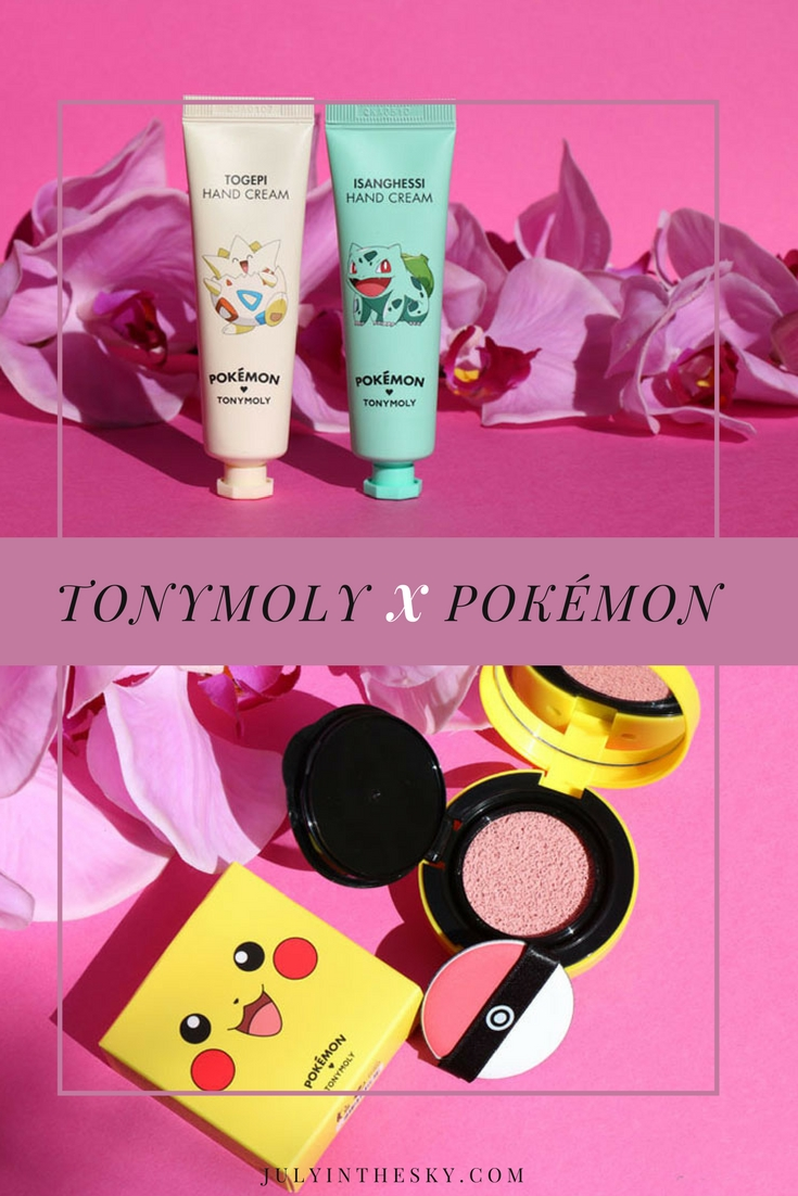 blog beauté tonymoly pokemon