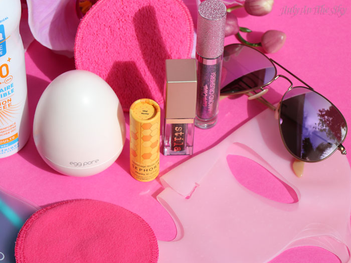 blog beauté favoris printemps ray ban clarange sephora stila egg pore mixa kiko lime crime
