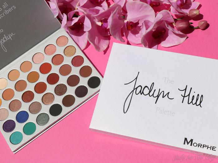 blog beauté palette morphe x jaclyn hill