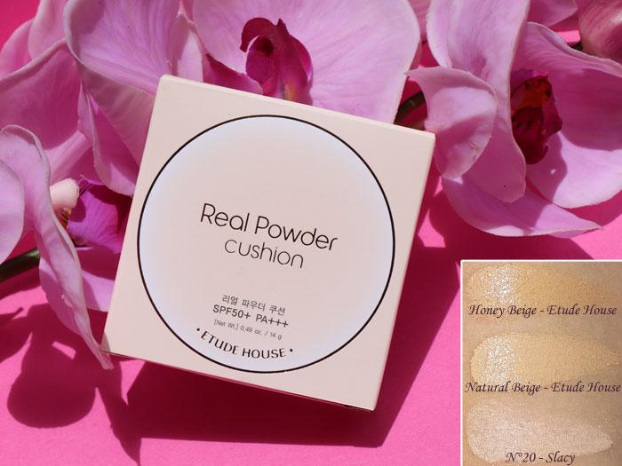blog beauté etude house q-depot real powder cushion