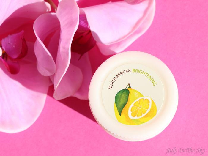 blog beauté skinfood freshmade lemon mask