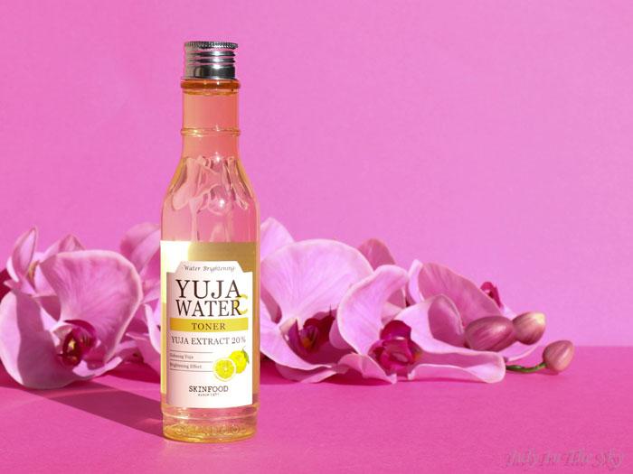 blog beauté skinfood yuja water toner yuzu