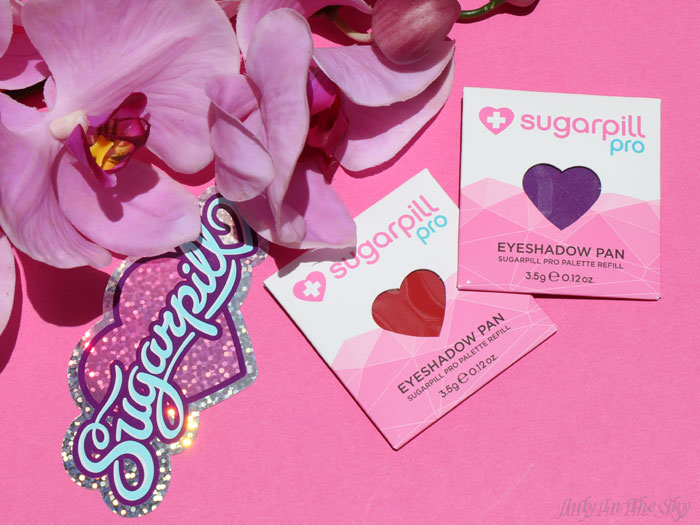 blog beauté sugarpill love+ poison plum eyeshadow pan