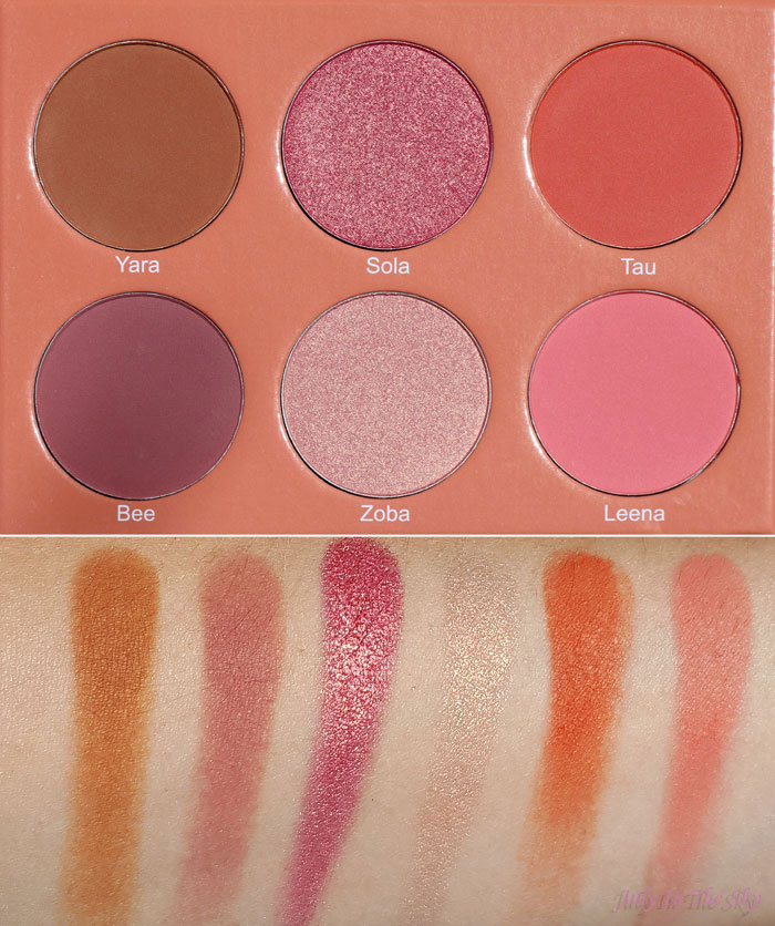 blog beauté juvia's place the saharan blush palette vol.2