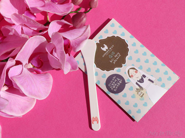 blog beauté mooni annies way q10 anti aging jelly mask