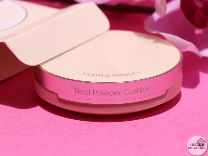 La Real Powder Cushion d'Etude House pour ma peau mixte