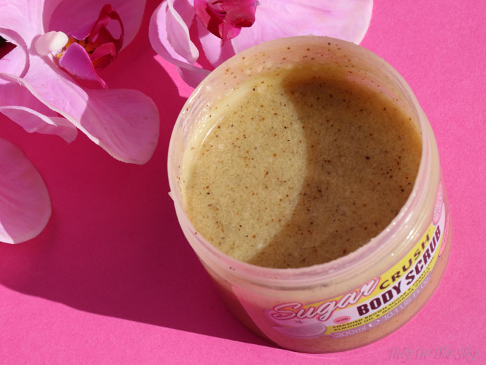 blog beauté body scrub sugar crush soap and glory