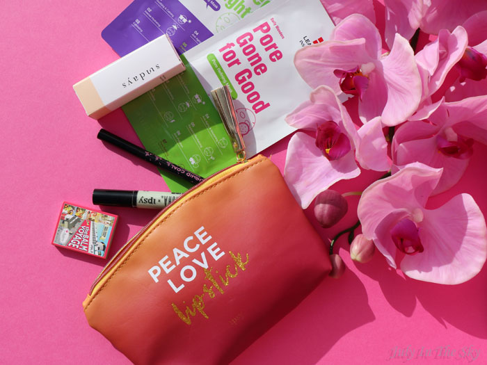 blog beauté ipsy glam bag august the balm seraphine botanicals sundays leaders cosmetics aurora