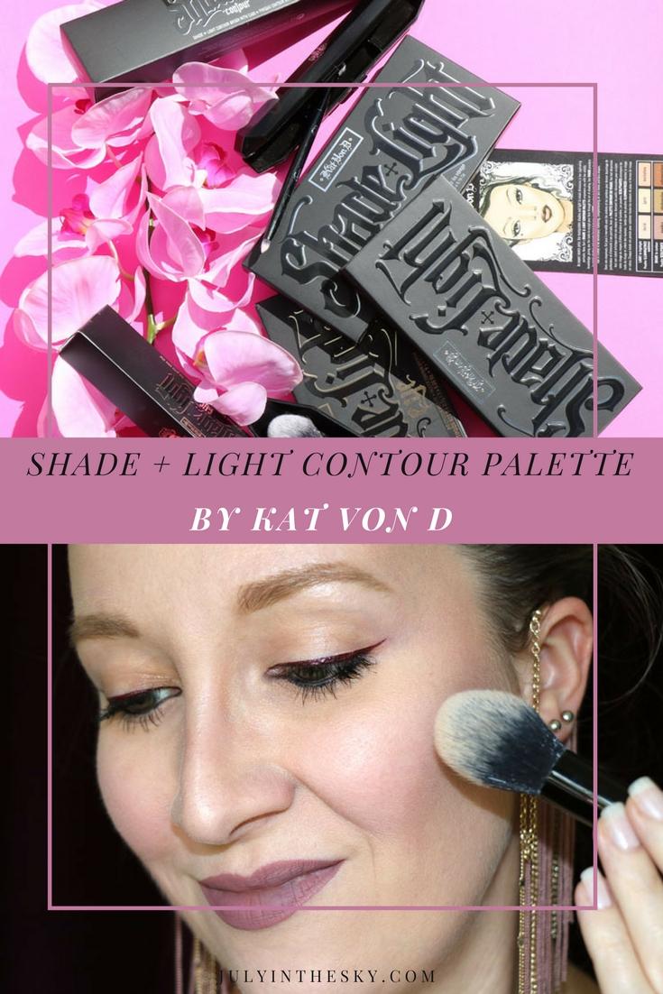 blog beauté kat von d shade + light contour palette