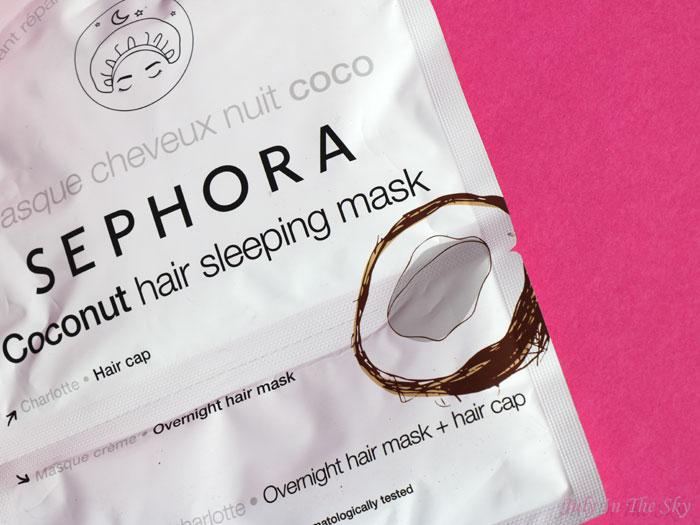 blog beauté sephora masque cheveux nuit coco