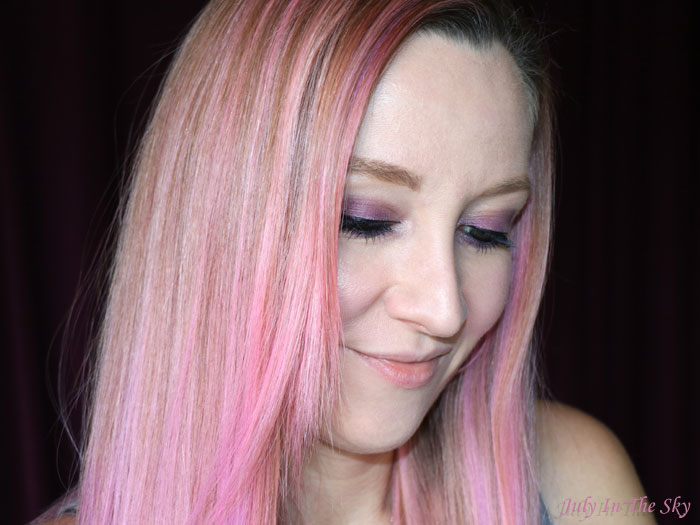 blog beauté unicorn hair pink cheveux licorne tigi