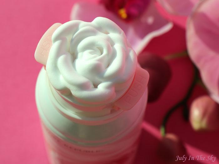 Mon nettoyant en forme de rose par Nature Republic