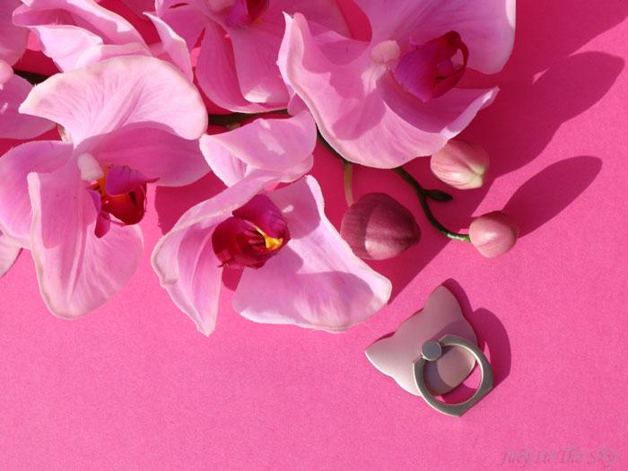 blog beauté kbeauty yestsyle Mobile Ring Cat Rose Gold