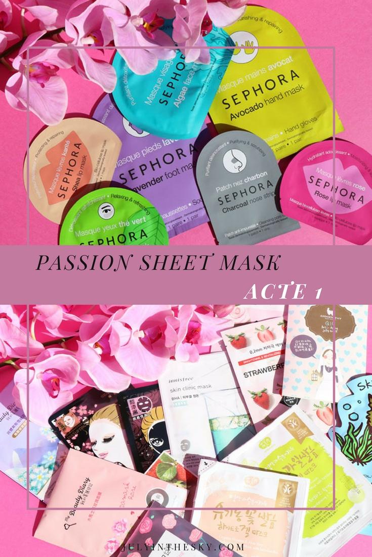 Passion Sheet Mask