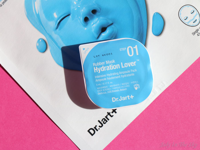 blog beauté sephora rubber mask moist solution dr jart+