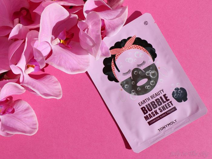 blog beauté sephora tony moly earth beauty bubble mask sheet