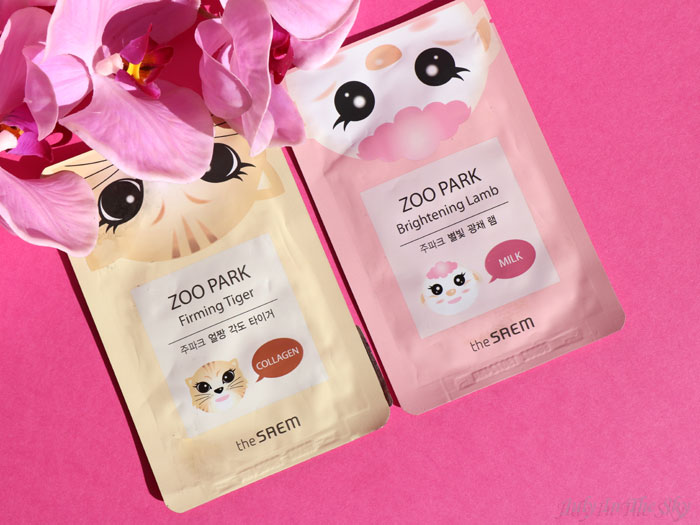 blog beauté the saem zoo park mask sheet