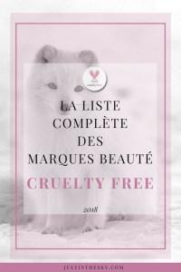 blog beauté liste marques cruelty free kbeauty 2018