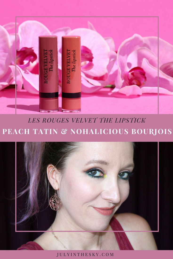blog beauté Bourjois Rouge Velvet The Lipstick Peach Tatin avis test swatch Rouge Edition Velvet Floribeige Berry Chic
