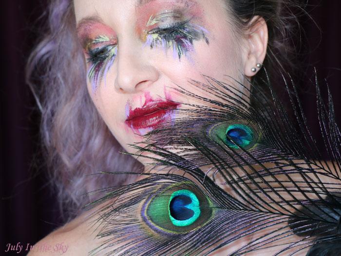 blog beauté tutoriel maquillage Art&Freak Show abstrait Abstraction Post Coachella
