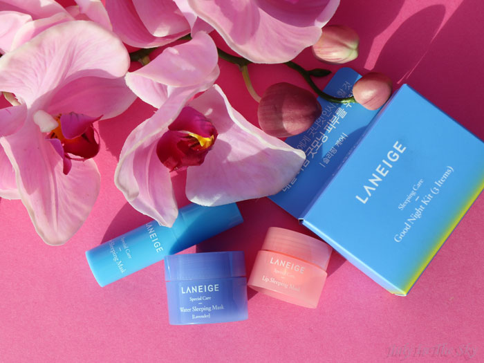 blog beauté kbeauty good night kit laneige sleeping mask
